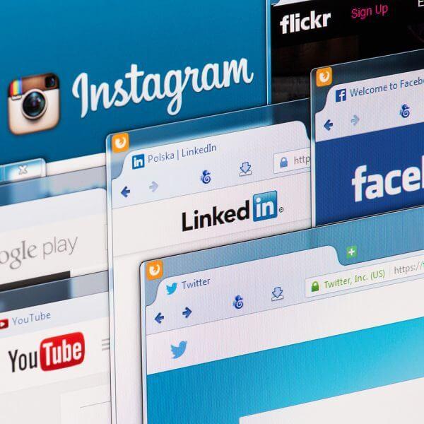 social media account creation gordo web design
