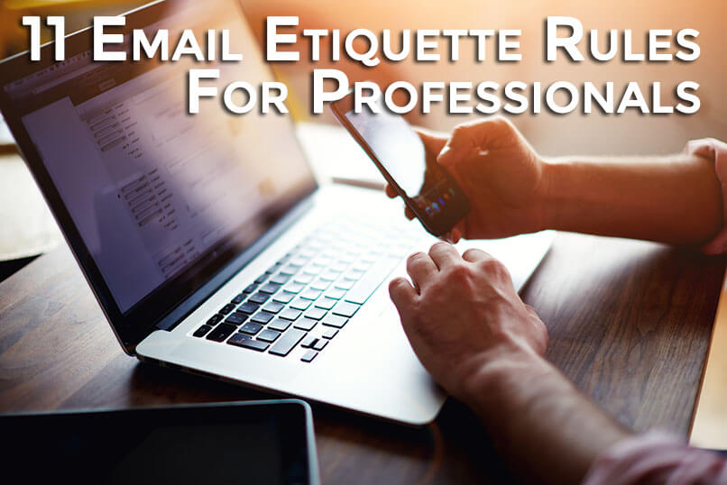11 Email Etiquette Rules For Professionals - 11 email etiquette rules for professionals web design fort lauderdale florida seo